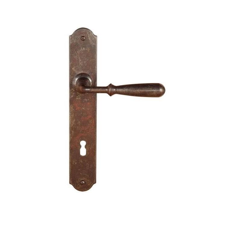 FM 030.N.R / Klamka żelazna z szyldem FM 030.N.R