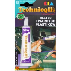 TECH-R-327 / Klej do twardych plastików  20 ml.