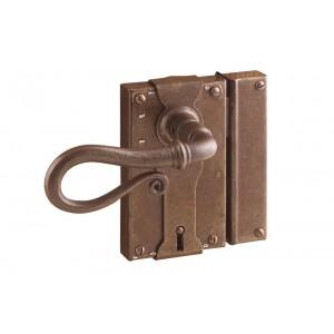FS 196.016 / Zabytkowy zamek do drzwi z kluczem