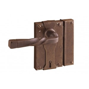 FS 196.027 / Zabytkowy zamek do drzwi z kluczem