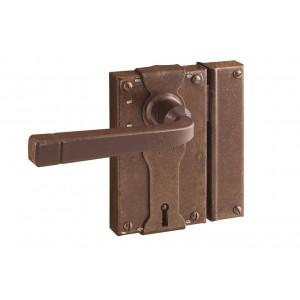 FS 196.031 / Zabytkowy zamek do drzwi z kluczem