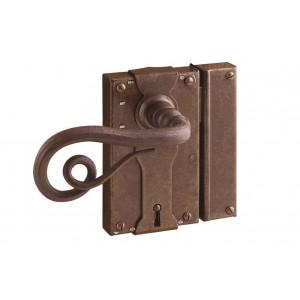 FS 196.371 / Zabytkowy zamek do drzwi z kluczem