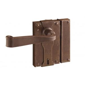 FS 196.375 / Zabytkowy zamek do drzwi z kluczem