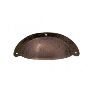 R-15122.096.27 / Uchwyt meblowy - muszelka stare żelazo
