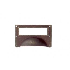 R-15123.080.27 / Uchwyt meblowy - muszelka stare żelazo