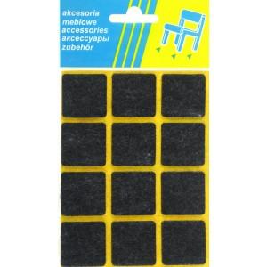 M-700 KW.CZARNY 28x28 / Filc pod meble