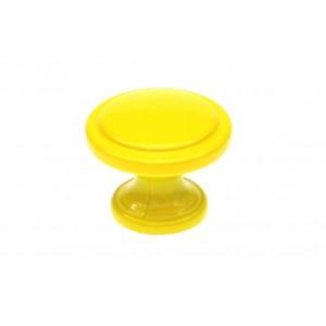 G30-2786/30 żółta / Gałka meblowa